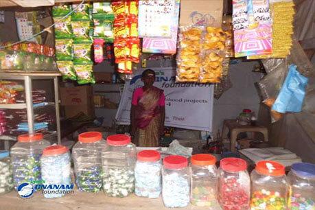 Livelihood Beneficiaries of Gnanam Foundation