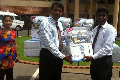 Donation of Water Purifiers to General Hospital – Vavuniya