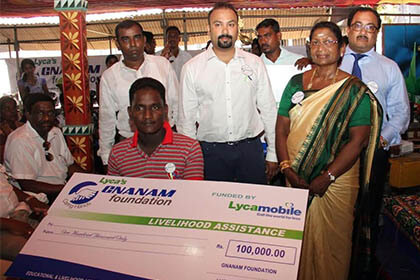 Lyca's Gnanam Foundation Launches Ambitious Project in Sri Lanka