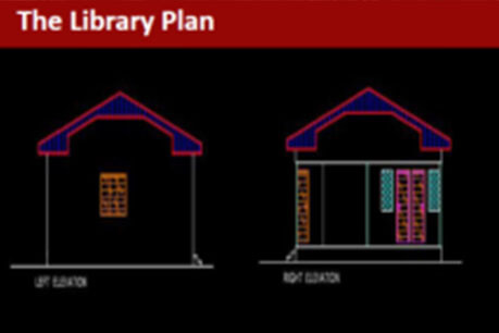 Partnered With the Damilola Taylor Trust to Build a Library in Nigeria
