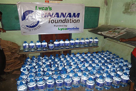Purified Drinking Water Distribution in Jaffna