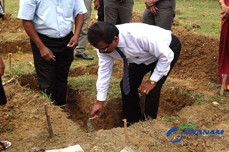 Contribution to Chankanai Thanavodai Community – Construction of Permanent Toilets