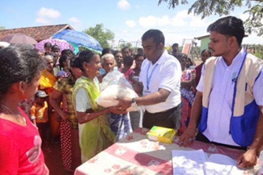 Flood Relief Assistance in Sri Lanka