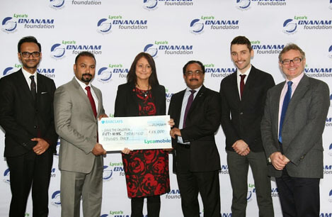 Lyca's Gnanam Foundation has donated £59,000 to save the victims of the Ebola crisis in West Africa
