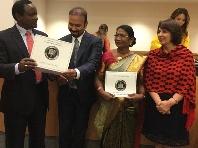 Lyca Gnanam Foundation & Gnanam Foundation's Co-founder conquered UN Global Official of Dignity Award