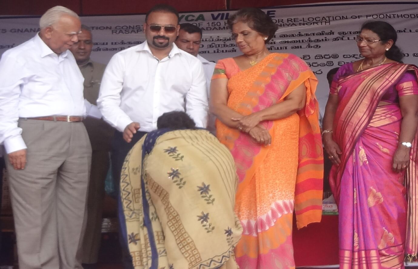 VALUABLE CONTRIBUTION TO RESOLVE WATER CRISES IN THE JAFFNA PENINSULA